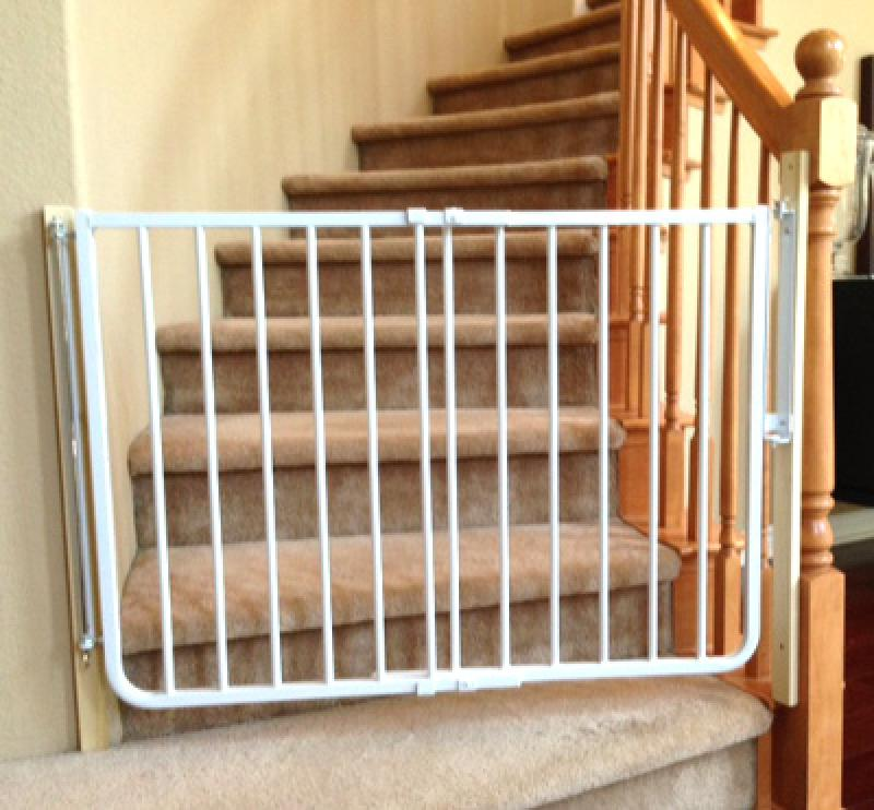 Simple Baby Gates For Stairs With No Walls Home Inspiring
