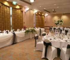 simple white wedding room decorations reception
