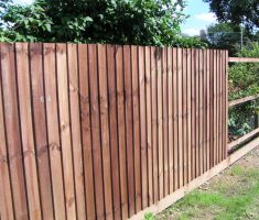 simple wood cheap fence panels