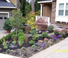 small best landscaping ideas for front yard no grass