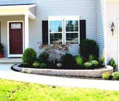 small minimalist landscaping ideas for front yard with porch