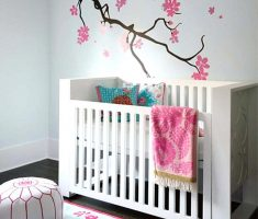 small modern baby girl rooms for small nursery room