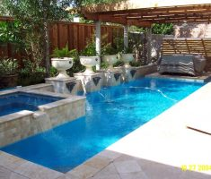 small modern inground swimming pools for small backyards