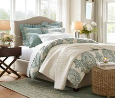 small upholstered headboard bedroom ideas for small bedroom