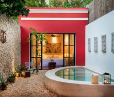stylish and contemporary mexican exterior design ideas for mexician home design