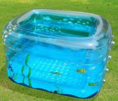tiny plastic pool inflantable for baby