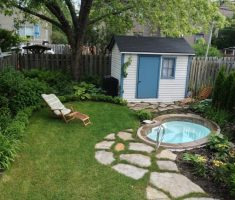 tiny inground swimming pools for small backyards