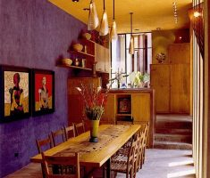 traditional mexican dining room interior design