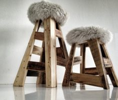 trendy chair reclaimed recycled wood furniture