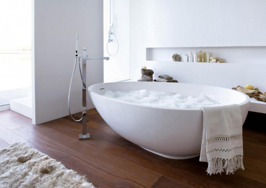 50 wonderful freestanding bathtubs home inspiring for Best freestanding tub material