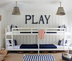 twin boy room ideas with bunk beds
