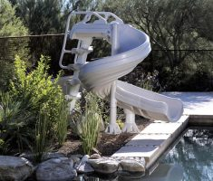 unique inground swimming pools with slides