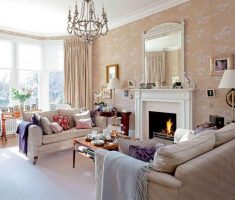 victorian-edwardian-style-interior-design-for-livng-room-with-fireplace