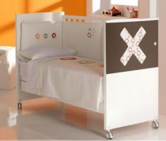 white and brown baby nursery furniture by cambarss