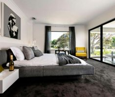 white-and-grey-masculine-bedroom-for-men-on-floating-bedroom