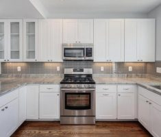 white color of kitchen cabinet designs ideas