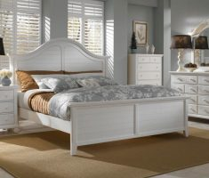 white wooden broyhill bedroom furniture