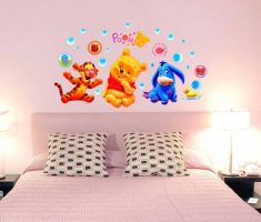 winnie the pooh wall stickers girls bedrooms