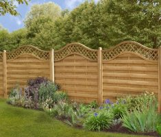 wonderful cheap fence panels with carving edge top design