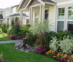 wonderful landscaping ideas for front yard of a ranch style house