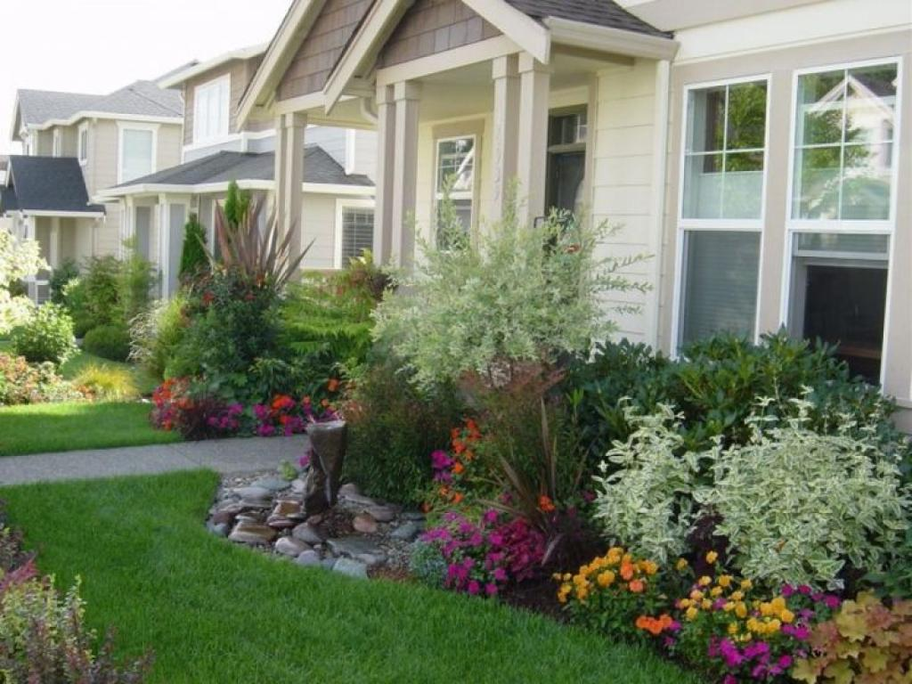 Landscaping ideas for front yard of a ranch style house - Wonderful Landscaping Ideas For Front Yard Of A
