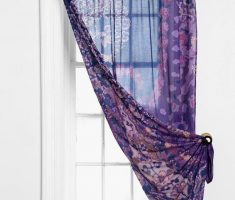 Beautiful Blue and Purple Curtains for Decorating