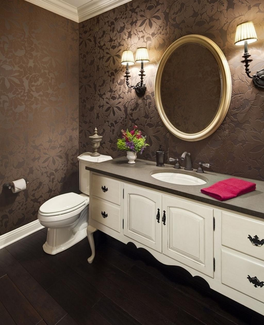 wallpaper ideas for small bathroom floral royal bathroom wallpaper ideas on small white 26178