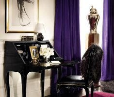 Dark Purple Curtains for elegant Decorating