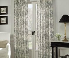 Enchanting French Doors with Curtains