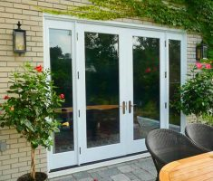 Fourth French Doors Exterior Glass