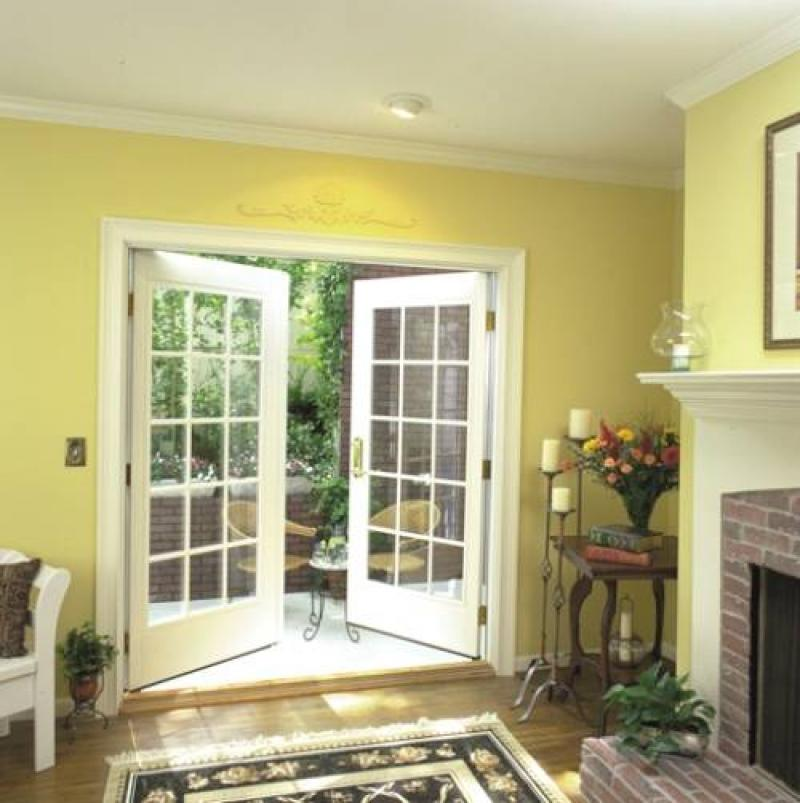French doors lowes for small home home inspiring for Small exterior french doors