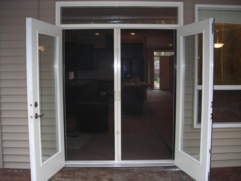 French doors exterior lowes lowes storm doors lowes for Exterior french door manufacturers