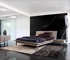 Masculine Black and White Apartment for Mens