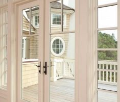 Modern French Doors Exterior White Colors