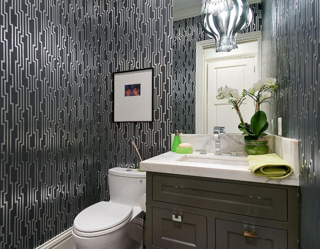 Floral Royal Bathroom Wallpaper Ideas On Small White Modern Bathroom Home Inspiring