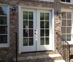 White French Doors Exterior Lowes