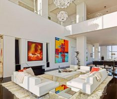 all white royal modern luxury apartment living rooms