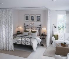 all white small cheap apartment decorating ideas