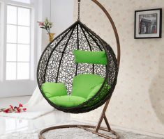 alluring indoor hanging chair black design for comfort and rileks