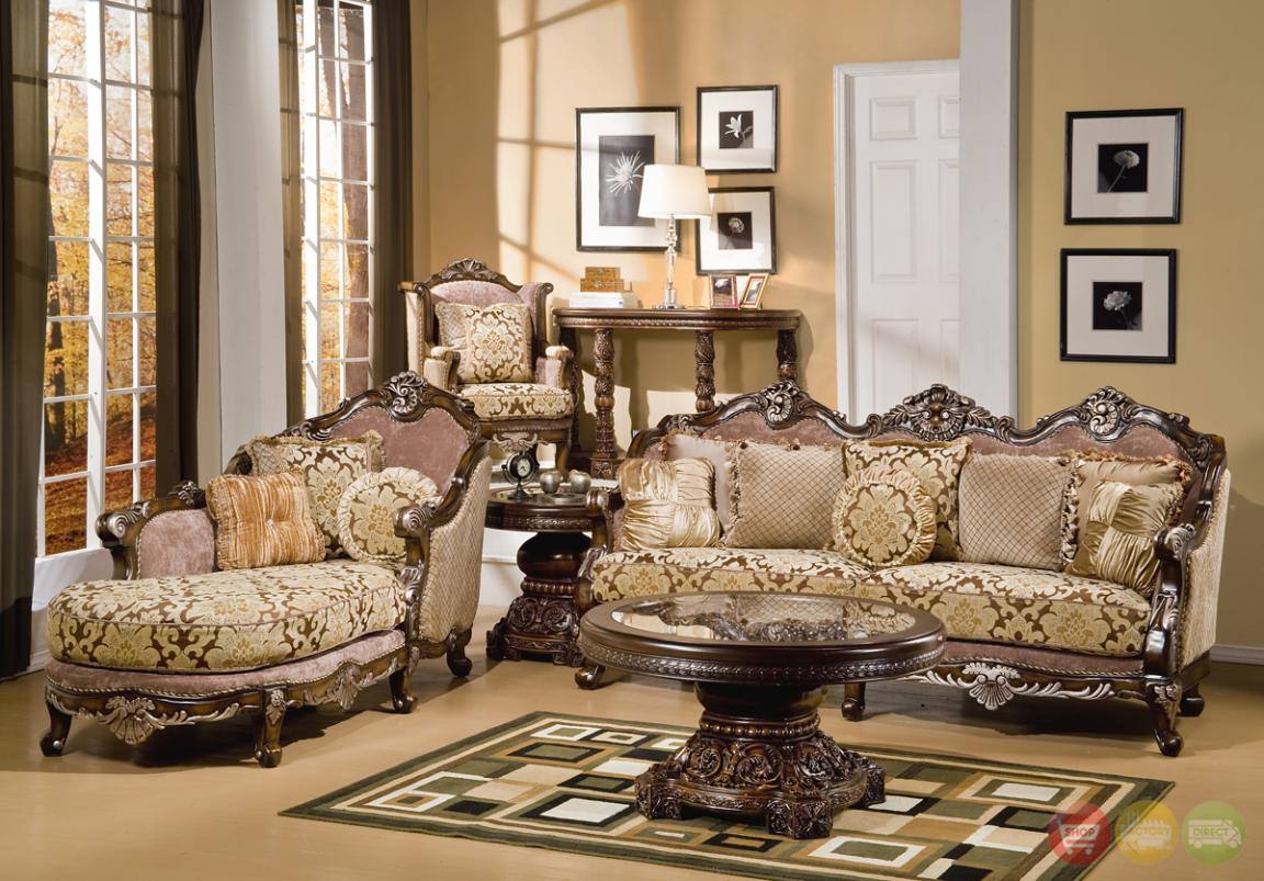 Alluring Traditional Luxury Living Rooms Furniture Desig