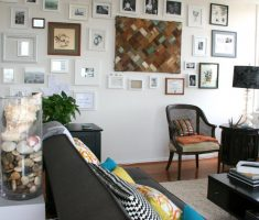 atractive cheap apartment decorating ideas with wall frames decor