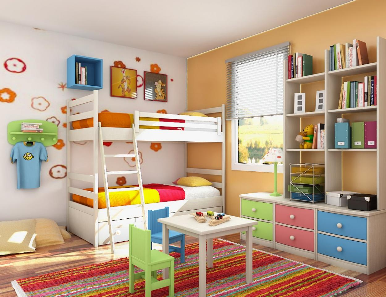 beauty-colors-theme-for-interior-design-bedroom-for-boys-and-girls