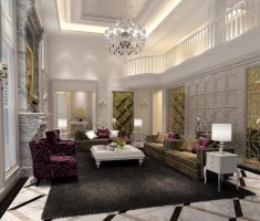 classic luxury living rooms design ideas with black rugs carpet and white crystal chandelier
