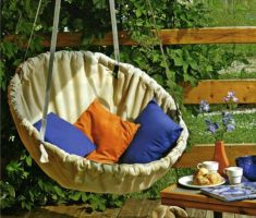 comfy outdoor diy ceiling hanging chair