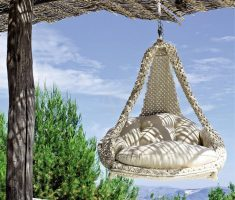 creative outdoor hanging ceiling chair