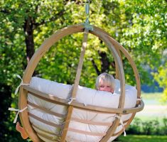 cute rattan outdoor hanging ceiling chair