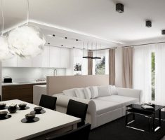 cute small apartment decorating ideas black and white theme colors