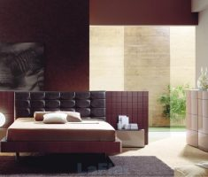elegant and cool brown colors theme for bedroom interior design ideas