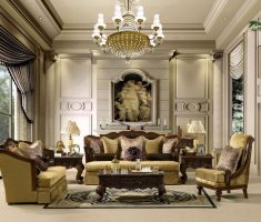 fabuous classic luxury living rooms design ideas with charming chandeliers and classic victorian furniture chairs