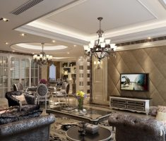 glamor victorian Luxury Living Rooms style